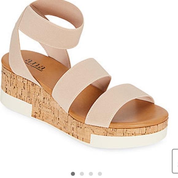 Womens Eliza Wedge Sandals